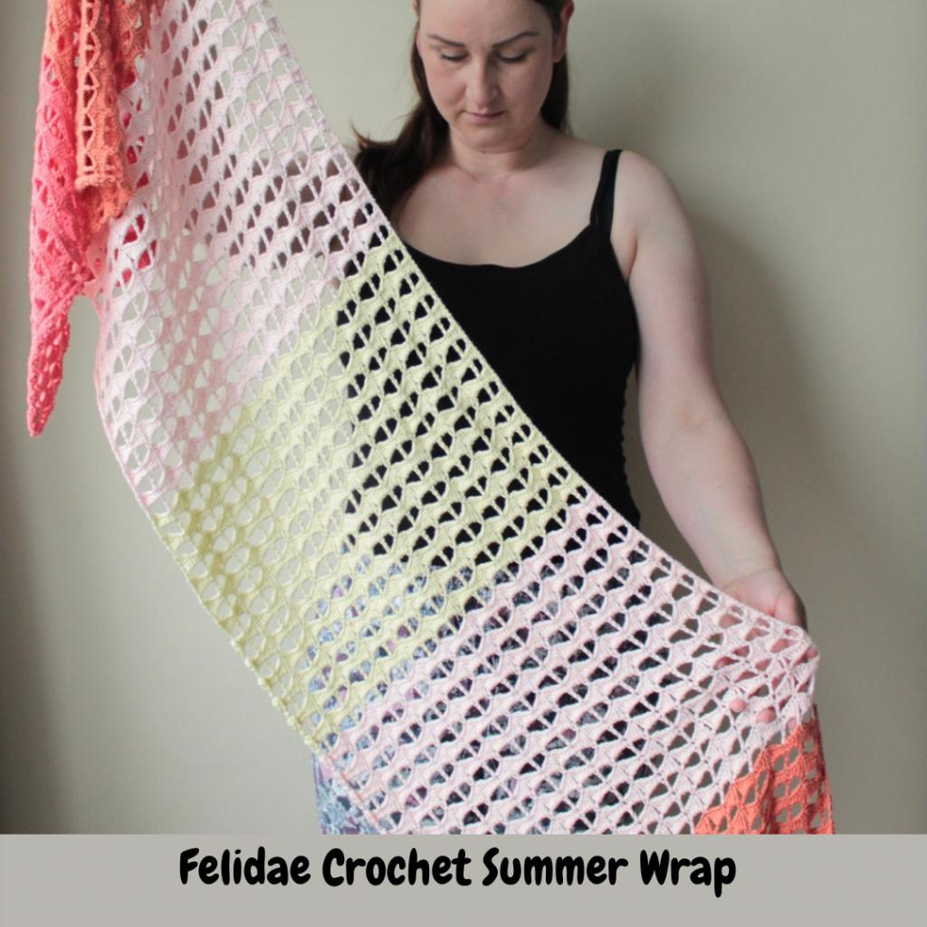 Crochet summer wrap