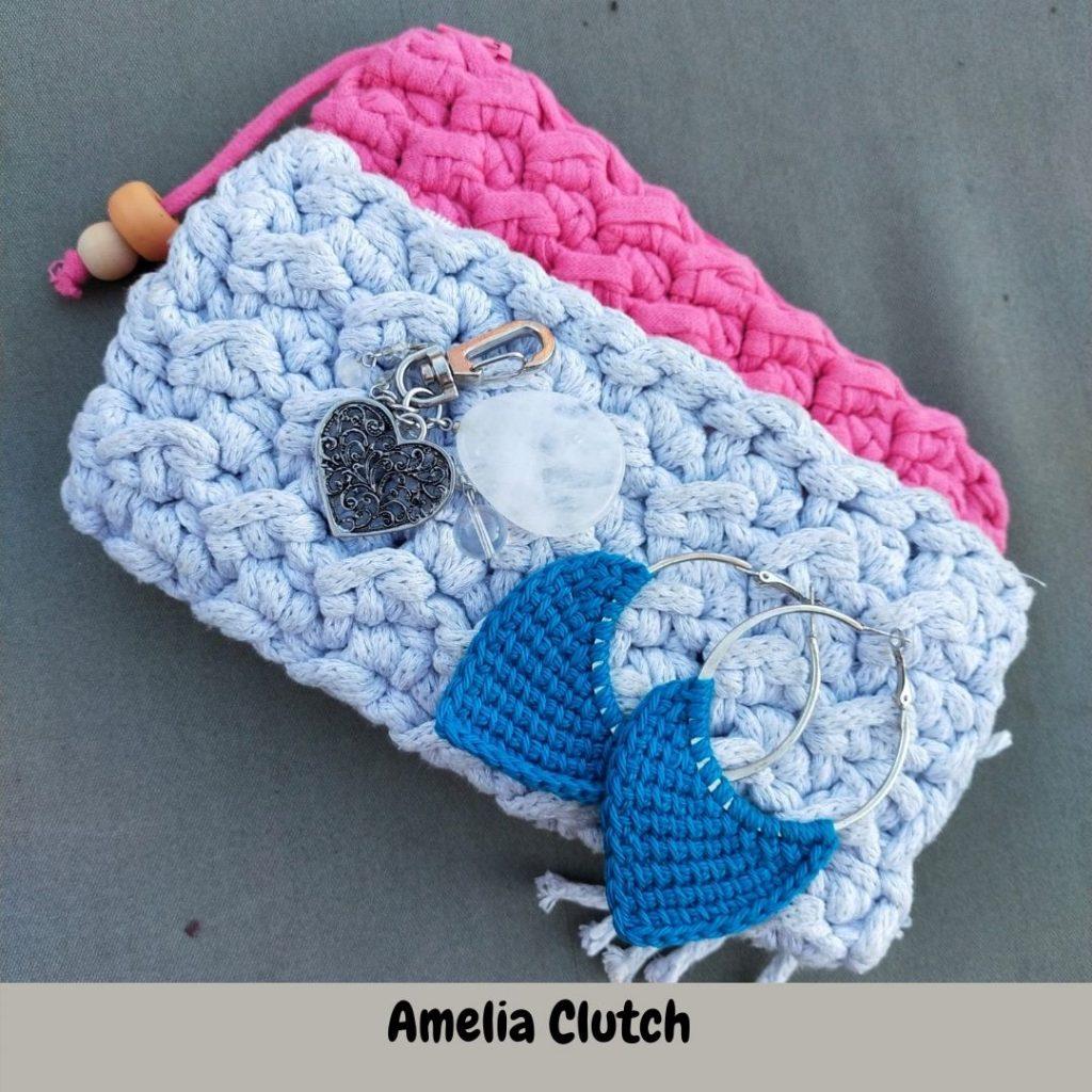 Quick crochet clutch