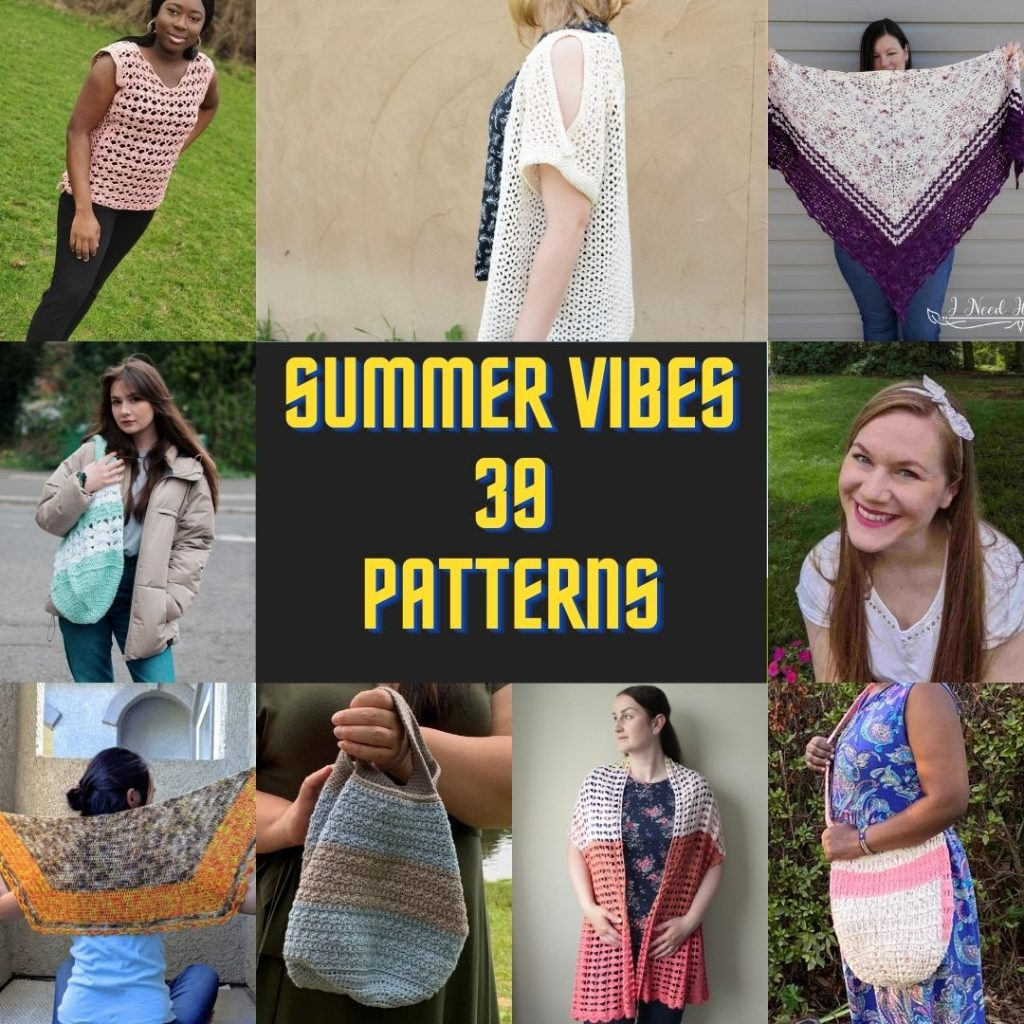 39 free crochet patterns perfect for summer