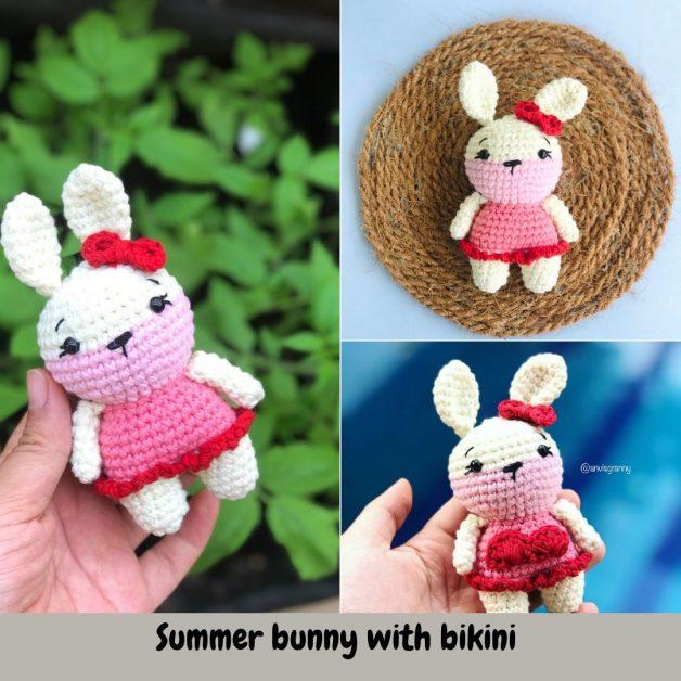 Crochet Summer Doll with Bikini