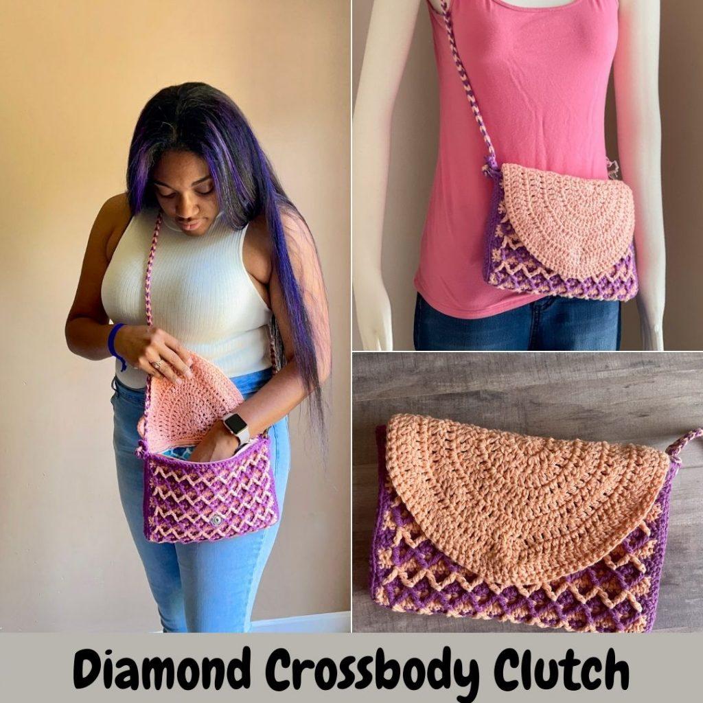 Cross body clutch