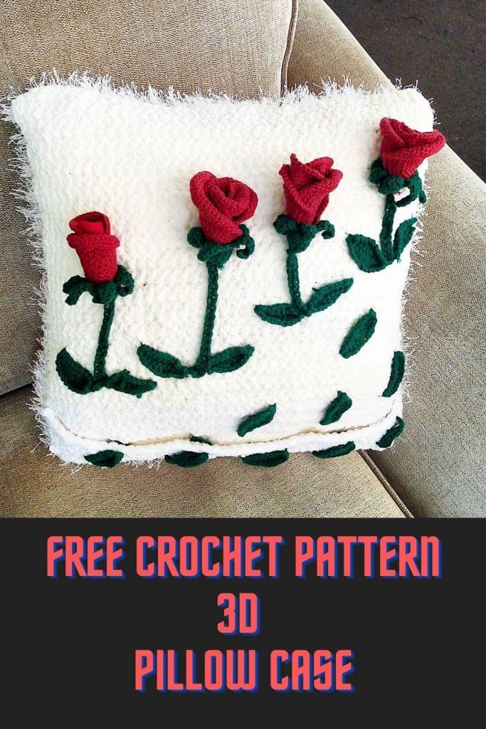 Easy crochet Pillow case cover patern