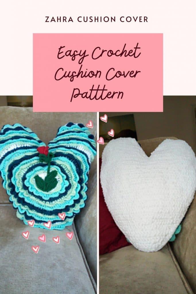 Easy crochet Pillow case cover pattern
